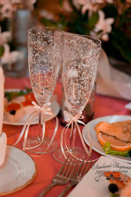 Бокалы на свадьбу купить Нижний Новгород.