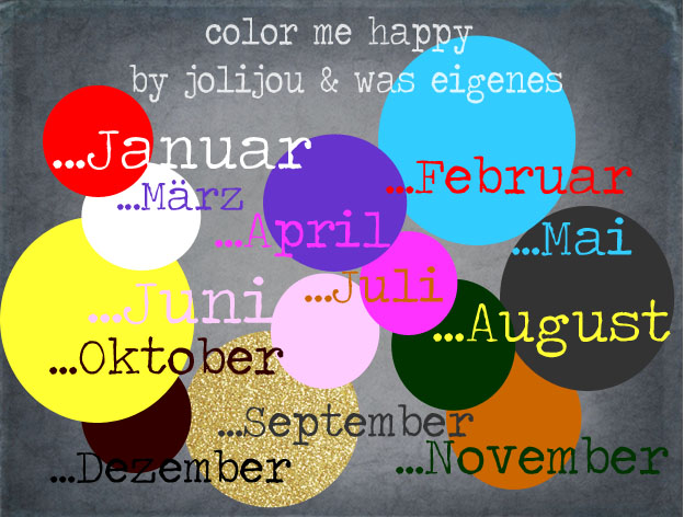 """Color me happy"" bei ""Was Eigenes"" und ""Jolijou"""