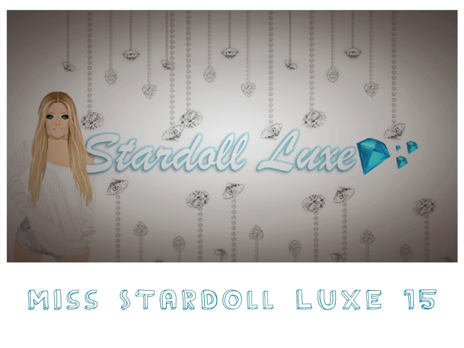 Votação para Miss Stardoll Luxe