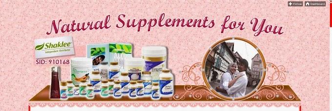 Tempahan Design Blog: Natural Supplements for You