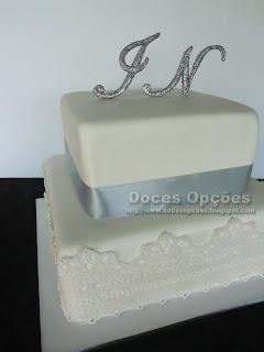 bolo renda comestivel