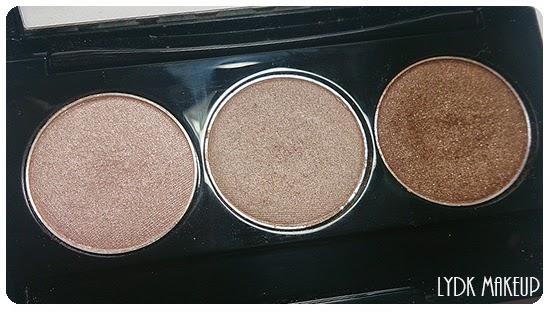 lydkmakeup nyx paleta 3 sombras deep bronze mink brown aloha