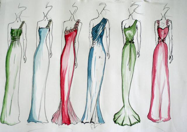 Dress Designs Drawings 2013 Prom Dress Designs