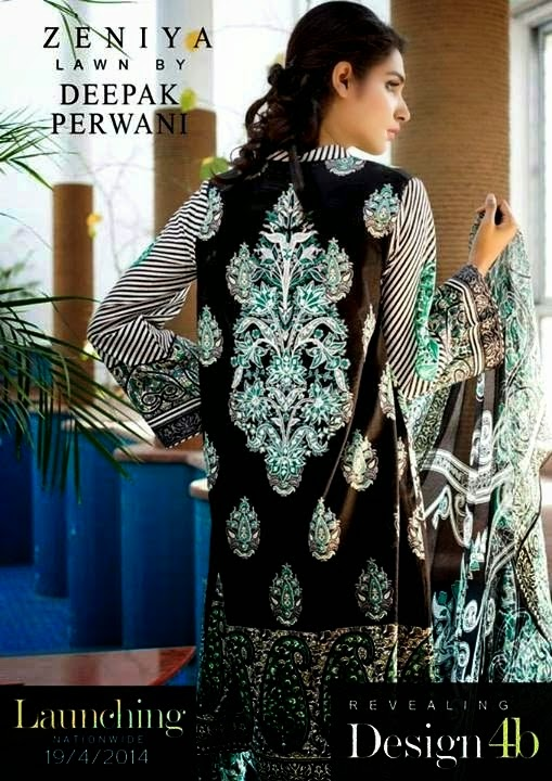Embroidered Lawn Salwar Kameez