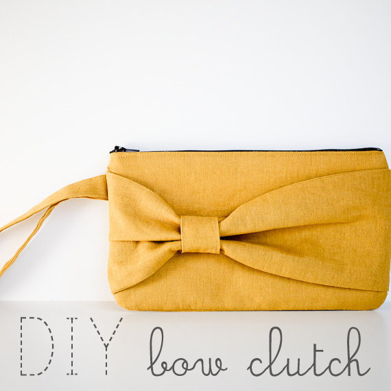 Bow Clutch Sewing Tutorial