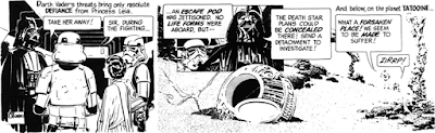 Al Williamson Star Wars comic #9