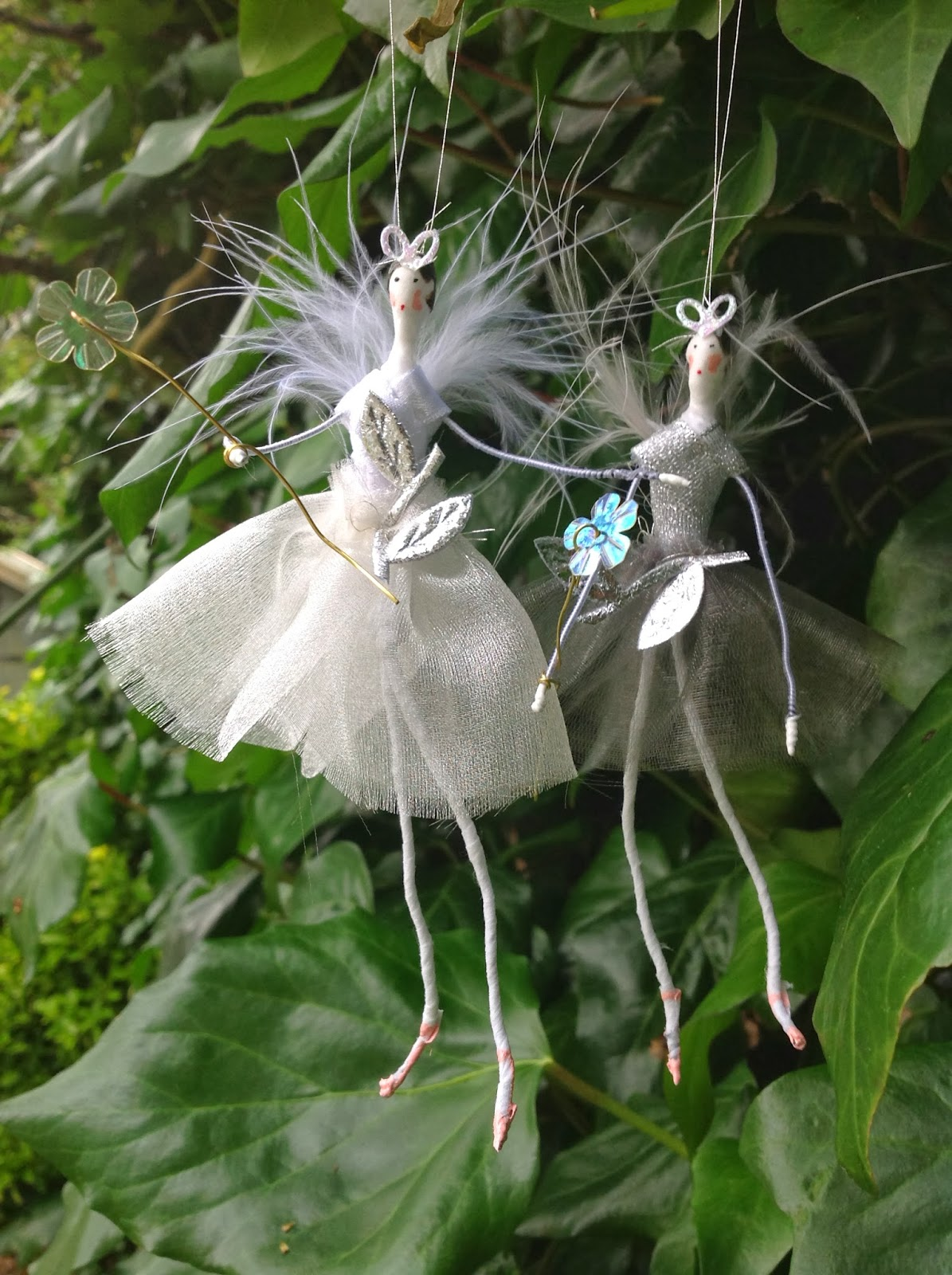 Living With Fairies: Fairies Are Exercising !