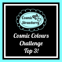 Top 3 in Cosmic colours challenge#3