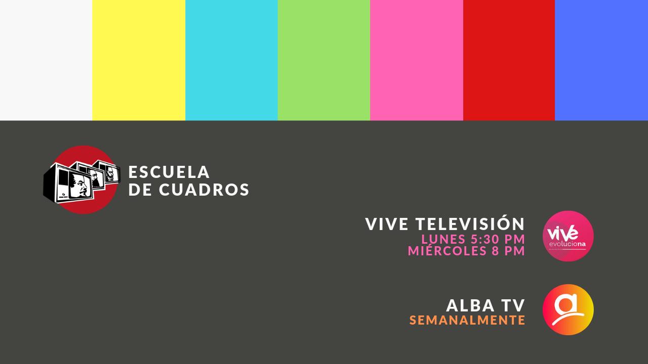 ESCUELA DE CUADROS EN TV