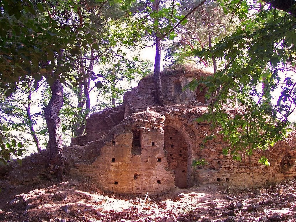 Byzantine Monastery in danger of collapsing