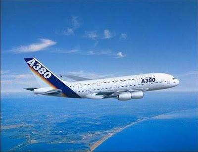 Pesawat Airbus A380 Milik Singapura (12 Gambar)