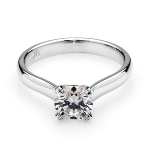 On Merely A Thought Of Engagement Rings You Start Visualising An Image Of A  Beautiful Solitaire Diamond Ring Flanked With Semi Precious Stones For A  Woman.