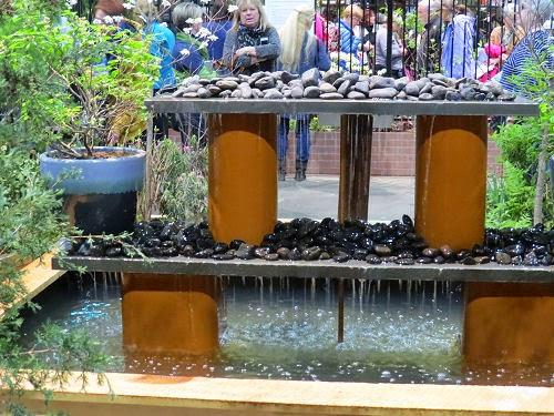 Philadelphia Flower Show 2015- fountains EPA