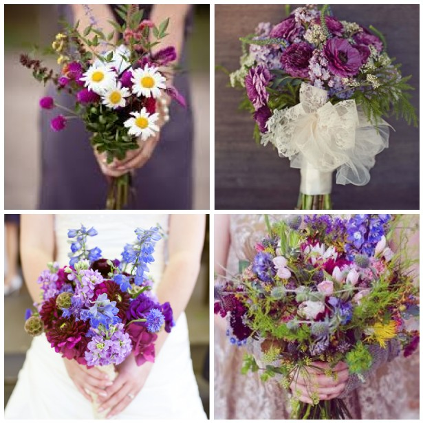 August Wedding Colors 2014 Wildflower ideas for a wedding
