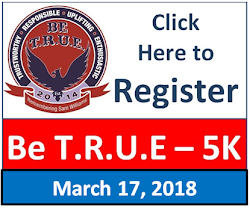 2018 Be T.R.U.E. 5K REGISTER HERE