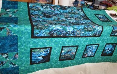 Sea life quilt