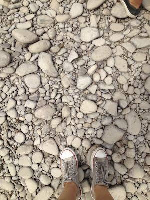 river round stones