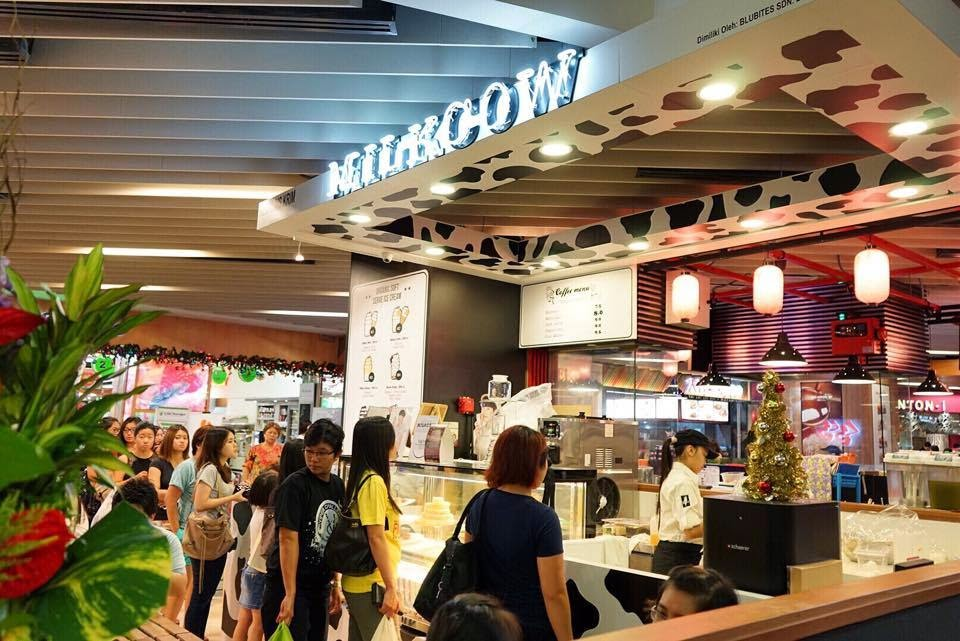 ... At The Gardens Mid Valley. Milkcow Is All About Deliciously Smooth,  Mild Tasting Ice Cream, Made From Organic Milk, Wisely Paired With Various  Toppings.