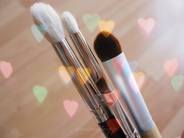 podstawowe pędzle do makijażu