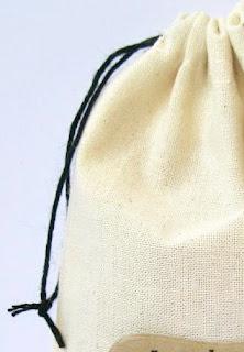 SRM Stickers Blog - Masculine Muslin Bag by Shelly - #birthday #fabric #bag #muslin #twine #stickers