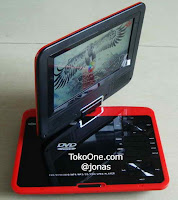 Jual dvd player portable