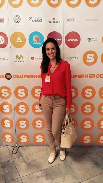 En #SuperHeroes15 el postureo máximo estaba permitido