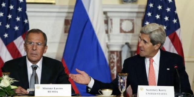 Menteri Luar Negeri AS dan Rusia bertemu di Jenewa, Swiss, untuk membahas Suriah. | Reuters