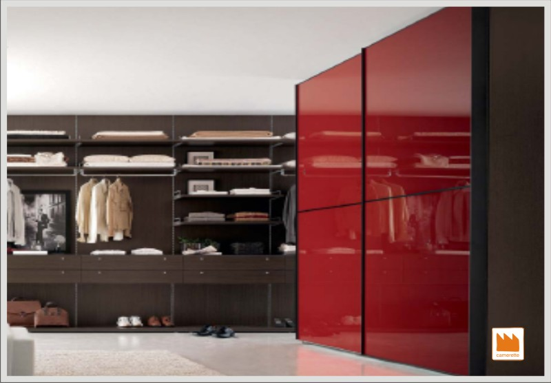 Arredamento e casa gli armadi nella camera matrimoniale - Letto nell armadio ...