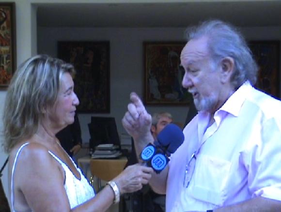 SAM ENTREVISTADO POR MARBELLA TV 2008.