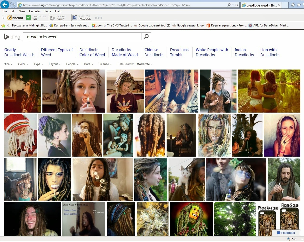 Bing Image Search Dreadlocks March 2015