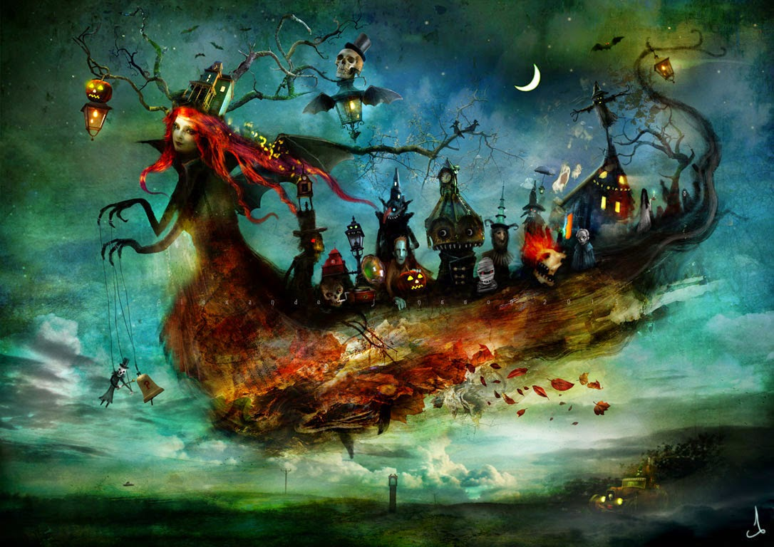 31-Alexander-Jansson-Fairy-tale-Worlds-in-Surreal-Paintings-www-designstack-co