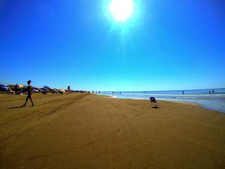 praia do cassino no verão