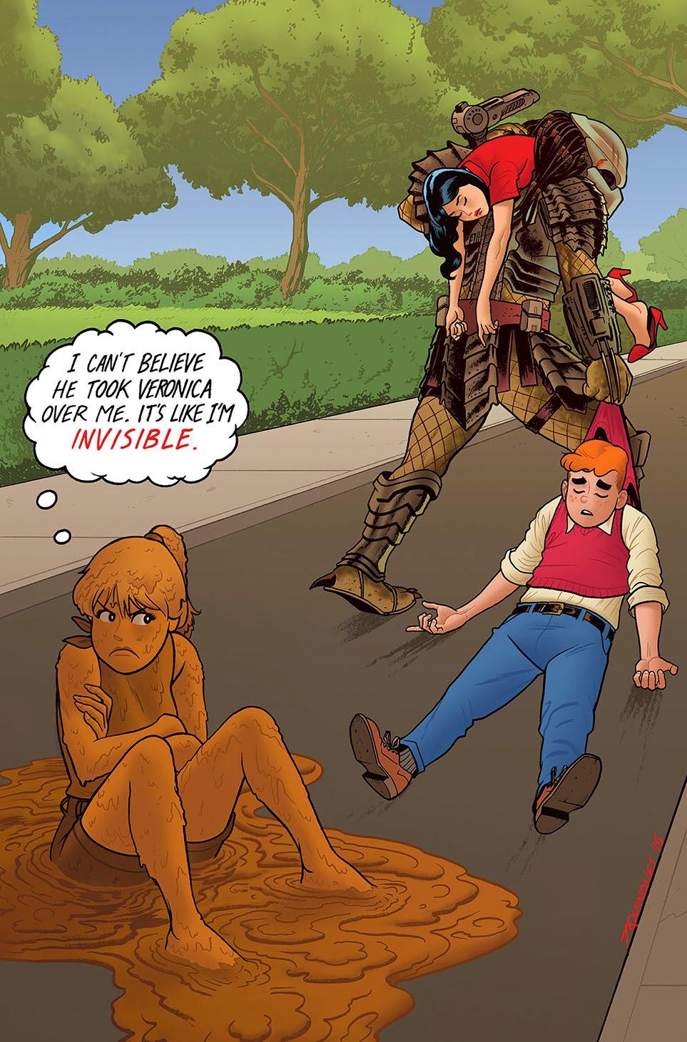 """Archie vs Predator """""""