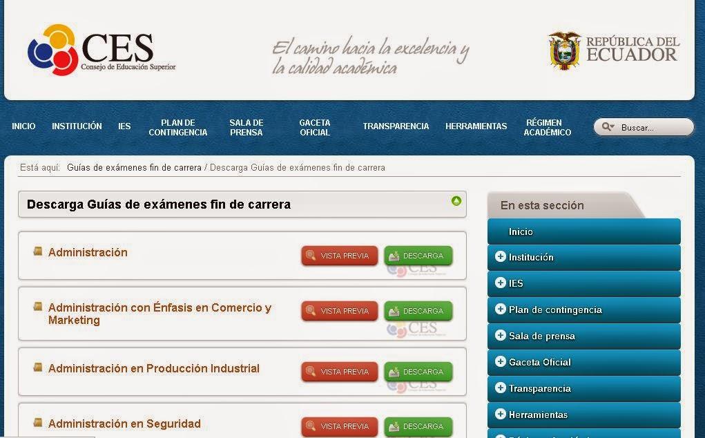 http://www.ces.gob.ec/guias-de-examenes-fin-de-carrera