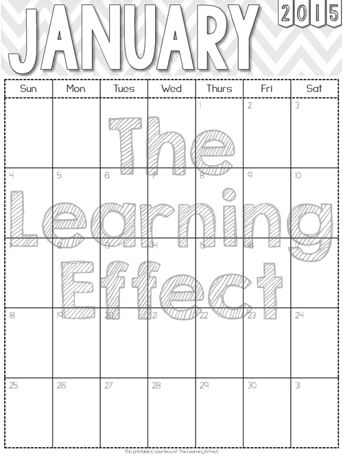 http://www.teacherspayteachers.com/Product/2014-2015-Black-and-White-Chevron-Monthly-Calendars-FREE-1313246