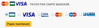 choix du moyen de paiement Visa, Matercard, AMEX sur votre boutique Prestashop