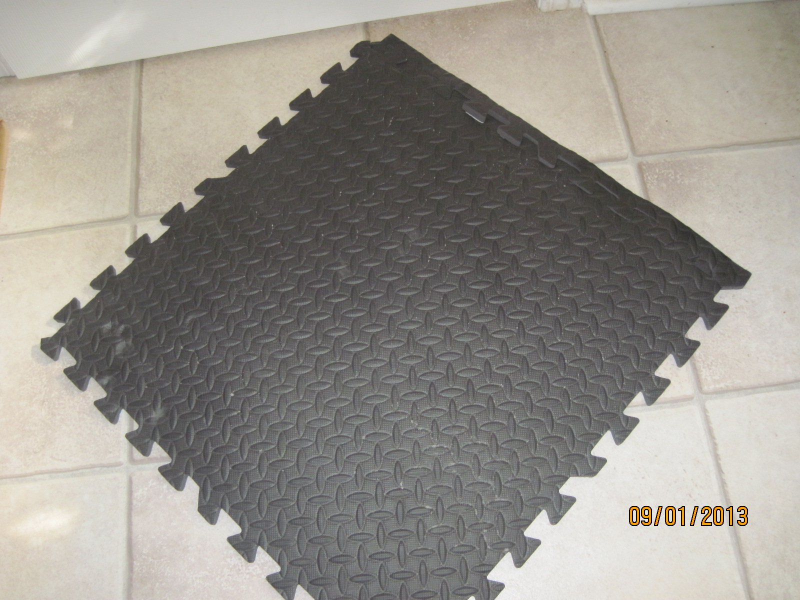 John toft basketry grid iron step floor tiles interlocking these interlocking floor tiles are soft underfoot they are ideal as flooring for a craft booth i have 32 of these tiles that i used as flooring for my dailygadgetfo Gallery
