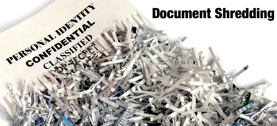 Mass paper shredding