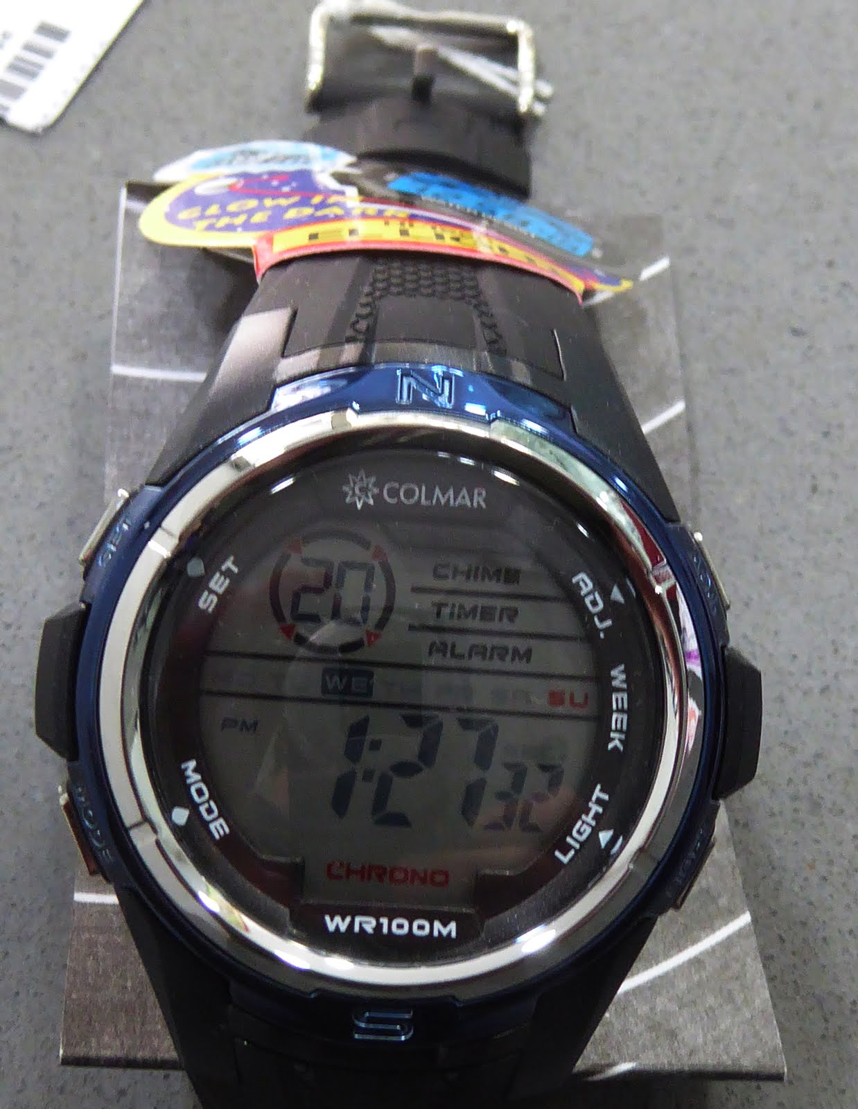 Reloj digital Colmar
