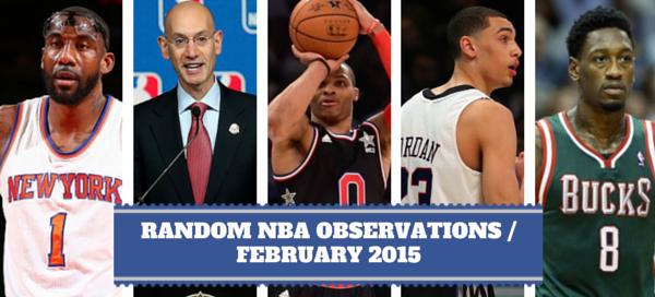 NBA Observations - February 2015
