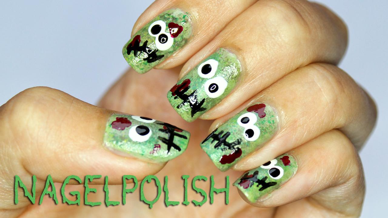 Nagel Polish   Blog rund um Nail Art!: Zombie Nägel Tutorial ...
