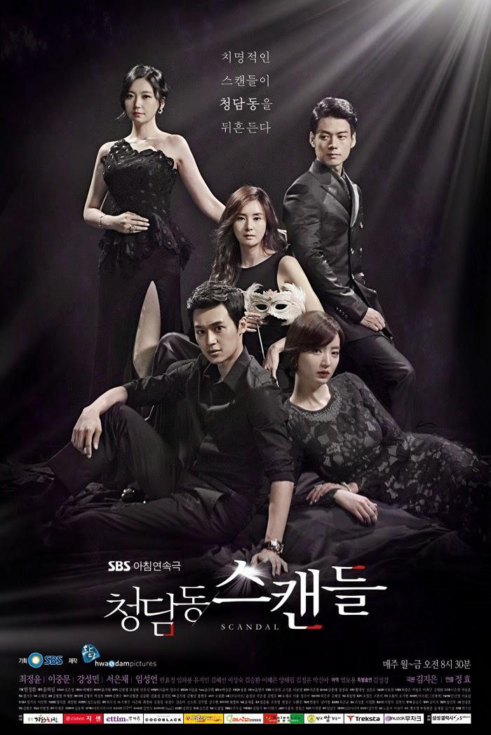 "Drama Korea ""Cheongdamdong Scandal"""