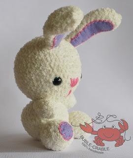 szydełkowe zabawki, szydełkowe maskotki, amigurumi, crochet bunny,