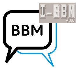 BBM Tema I-BBM V6 Dual BBM Versi 2.6.0.30 Apk