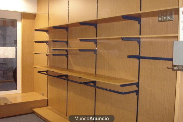 Aitor ieshglavall mobiliario de la tienda estanterias for Muebles para almacen