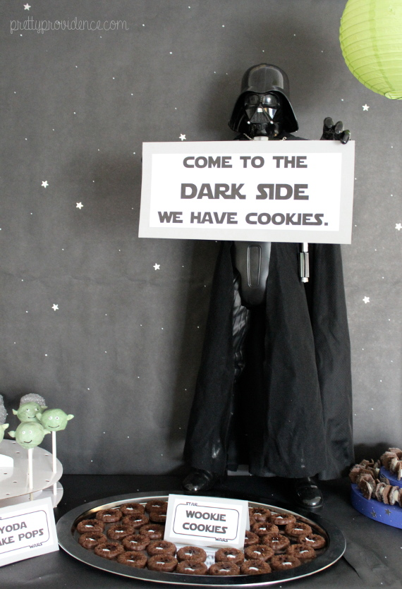 How To Decorate A Star Wars Themed Party For Cheap Food Decor And Kids