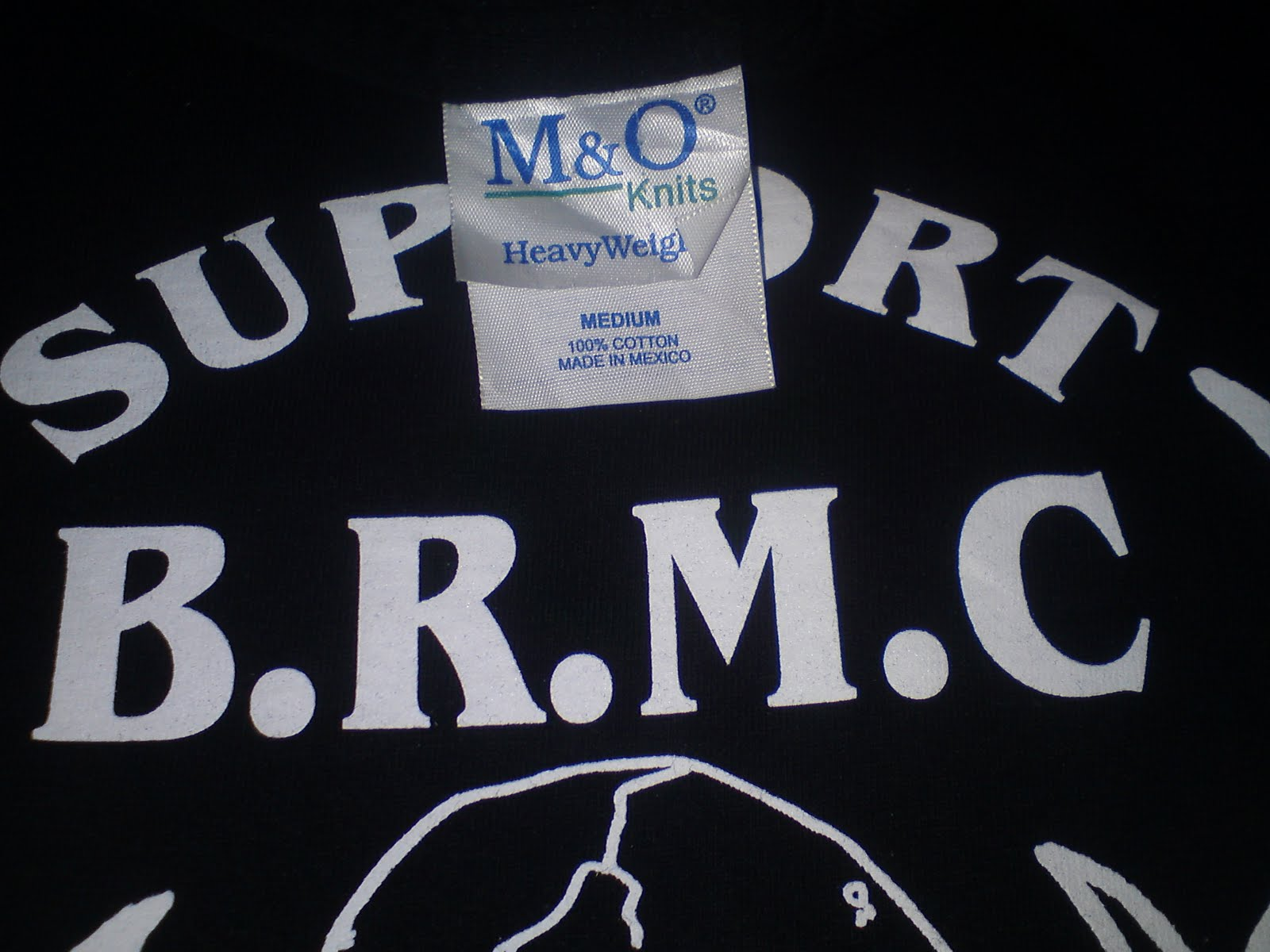 T shirt black rebel motorcycle club - Black Rebel Motorcycle Club B R M C Tag By M O Size M Pit To Pit 19 5 Length 28 Very Very Good Condition A Like New Sold