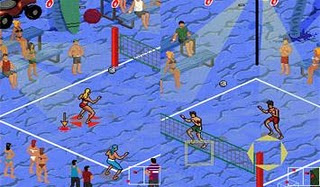 Beach Volleyball (240x320)