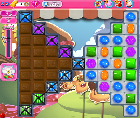 Candy Crush Saga 1053