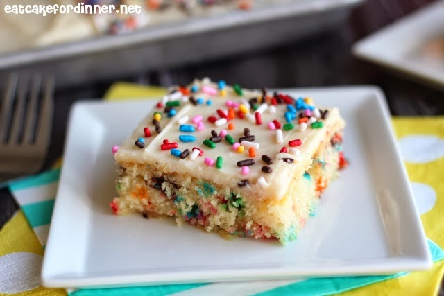 Funfetti Is Probably One Of The Most Requested Cakes By Kids On Their Birthdays And Now You Can Make It From Scratch Feed A Bunch Of People And Not Even